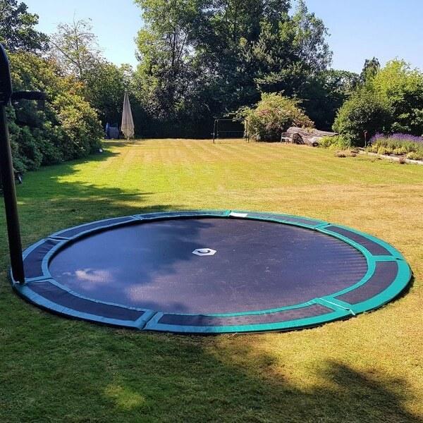 14ft Round In Ground Trampoline, In Ground Trampoline Cost